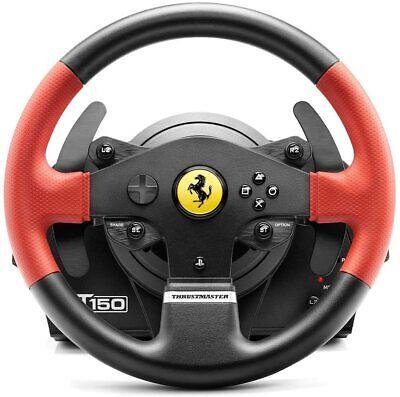 Volante + Pedali Thrustmaster T150 Ferrari Wheel Force Feedback PC/PS3/PS4