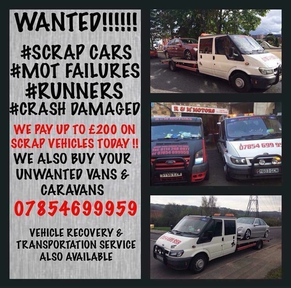 f9661473376e71 CASH FOR CARS VANS AND CARAVANS!! MOT FAILURES SCRAP AND DAMAGED! FROM  £200-£500 PAID IN CASH!!