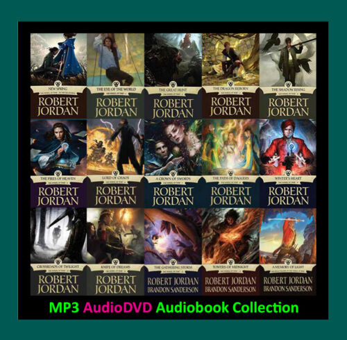 The WHEEL OF TIME Series By Robert Jordan  (15 MP3 Audiobook Collection)