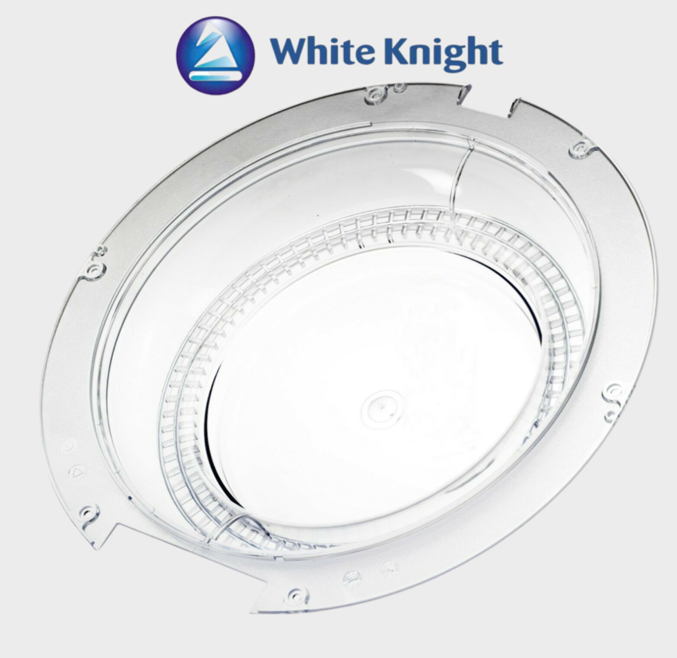 White Knight Tumble Dryer Glass plastic Door Window Genuine vented compact gas