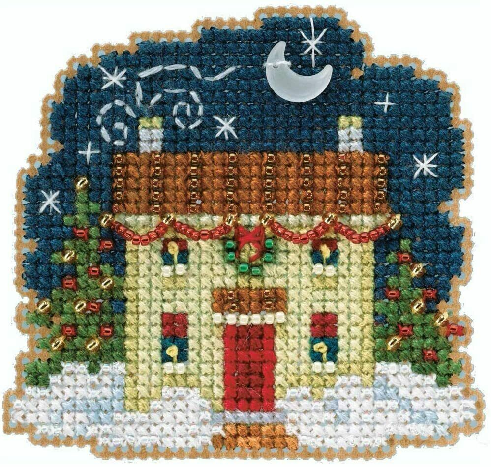 Mill Hill Winter Holiday Beaded Counted Cross Stitch Kit Chr