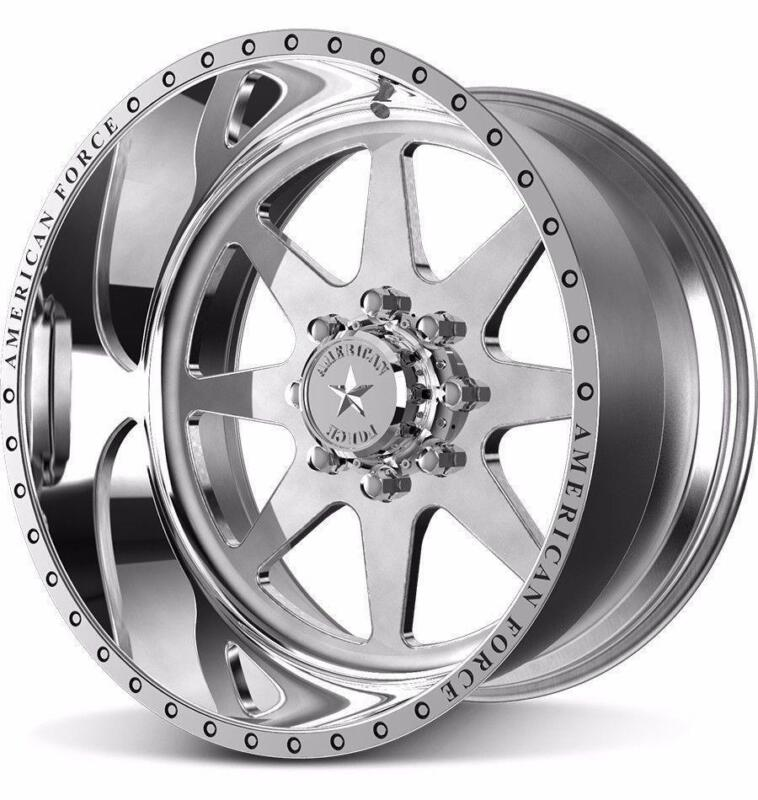 22 Inch 22x12 American Force Independence Ss Polished Wheel Rim 8x180 -40
