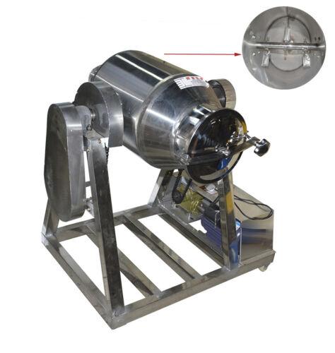 110V 60L Stainless Steel Granule Dry Powder Mixer Metal Powder Blender