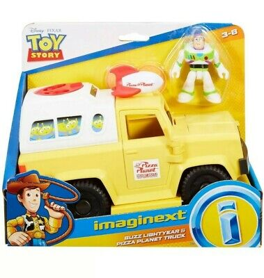 Imaginext Disney Toy Story 4 Buzz Lightyear And Pizza Planet Truck