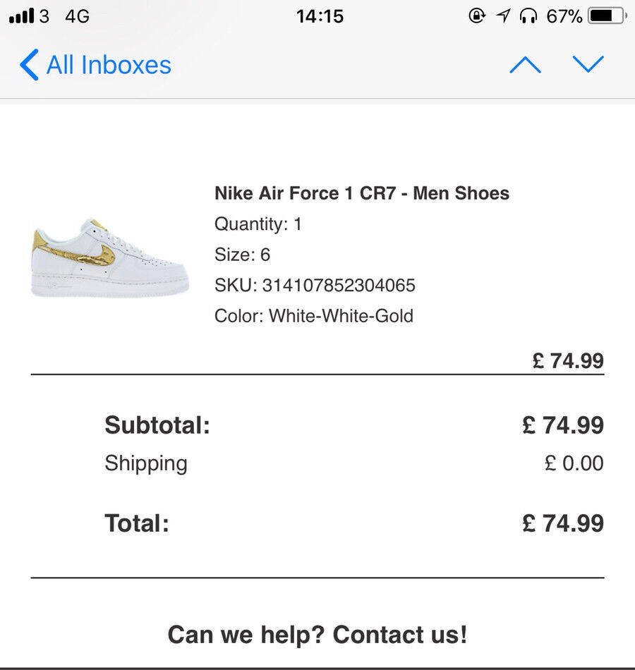 Tooting 1 Nike Force Bec Cr7 In Gumtree London Air TFCxS