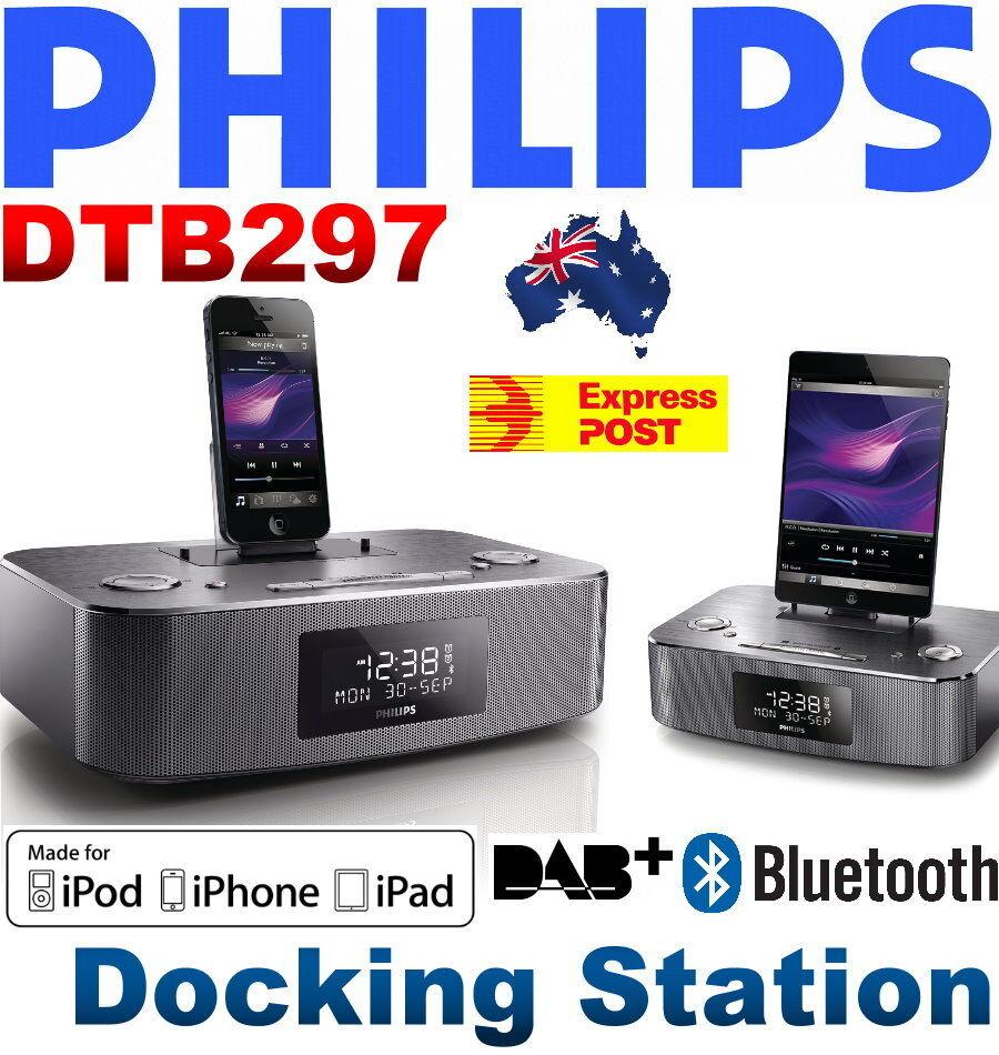 Dockingstation Ipad Und Iphone : philips dtb297 docking station for iphone 5 6 ipad ipod alarm radio dab fm ebay ~ Markanthonyermac.com Haus und Dekorationen