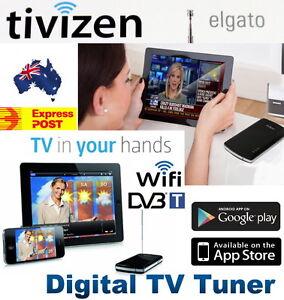 NEW Tivizen Portable WiFi DVB-T Digital TV Tuner iPad iPhone Android Smartphones