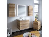 Mixed size/colour bathroom furniture