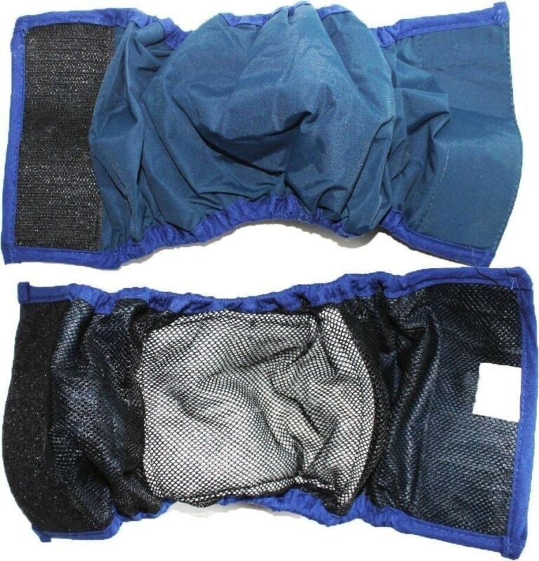 BELLY BAND Dog Diaper Male Boy Wrap Reusable WASHABLE Lining Padded XXS - XXXL