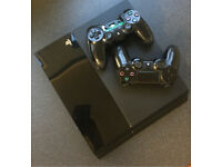 CHEAP PS4 500GB 2 CONTROLLERS