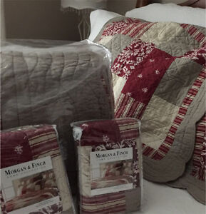 Morgan and Finch King Bedspread set $150 Pascoe Vale Moreland Area Preview