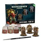 Warhammer DEATH GUARD PAINT SET+ GER/FRE/ITA/DUT/CZ/SLV
