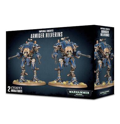 Armiger Helverins Imperial Knights Warhammer 40K Nib