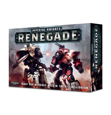 Warhammer 40K   Imperial Knights  Renegade   Brand New In Box  Ren 60