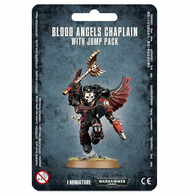 Blood Angels Chaplain with Jump Pack Space Marines Warhammer 40K NIB Flipside