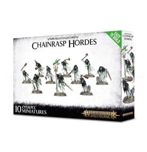 Easy to Build: Chainrasp Hordes Nighthaunt Warhammer Age of Sigmar NIB Flipside