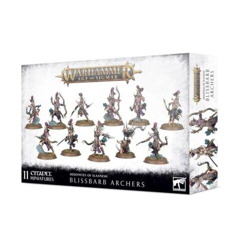 Blissbarb Archers Hedonites of Slaanesh Warhammer AOS Age of Sigmar