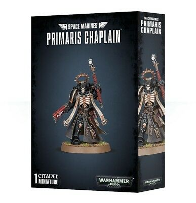Space Marines Primaris Chaplain Games Workshop Warhammer 40,000 Brand New