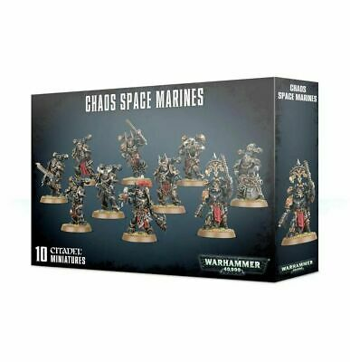 Chaos Space Marines Squad Black Legion Warhammer 40K NIB