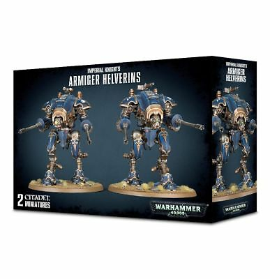 NEW! Warhammer 40k Imperial Knight ARMIGER HELVERINS RRP £45