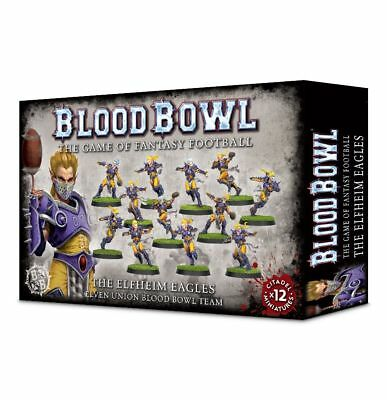 Games Workshop: Blood Bowl Elfheim Eagles Team x 12 Players