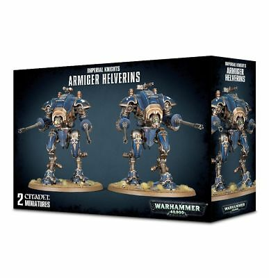 Warhammer 40k - Imperial Knights Armiger Helverins - Brand New in Box! 54-13