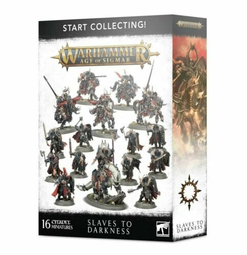 Warhammer Age of Sigmar START COLLECTING SLAVES TO DARKNESS - Chaos Warriors