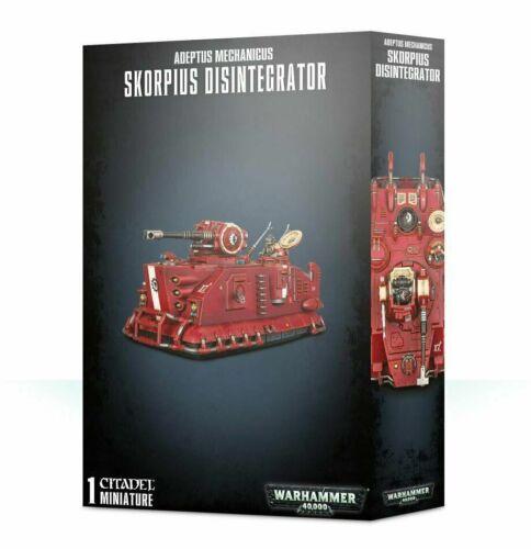 Games Workshop Warhammer 40K Adeptus Mechanicus Skorpius Disintegrator