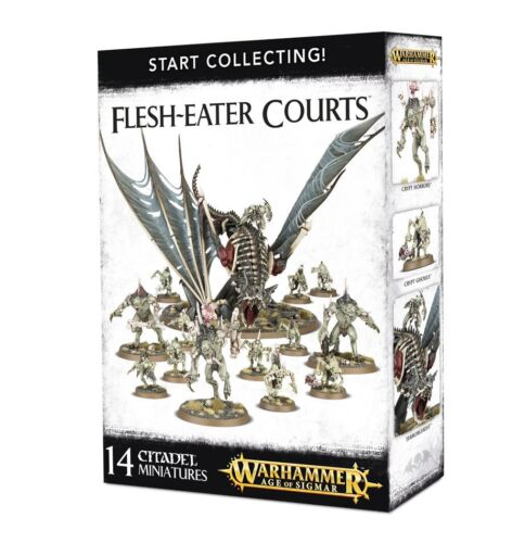 Start Collecting Flesh-Eater Courts Warhammer Age of Sigmar NIB Flipside