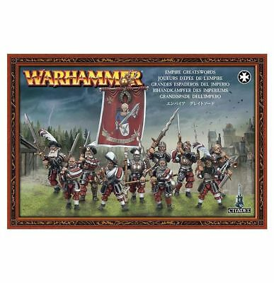 Warhammer Fantasy/Age of Sigmar Empire Greatswords NIB