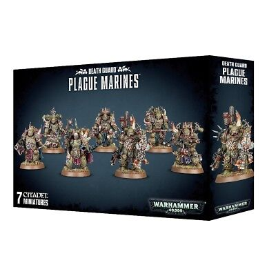 Death Guard Plague Marines Warhammer 40000 Games workshop Brand New Chaos