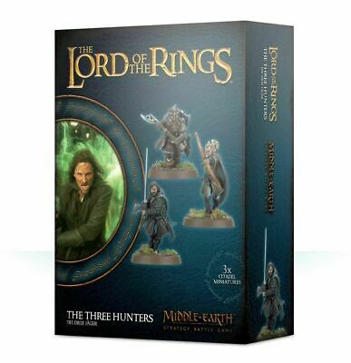 The Lord of the Rings - The Three Hunters - Games Workshop - Brand New!