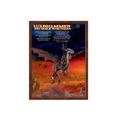 Warhammer Fantasy/Age of Sigmar Dark Elves Dreadlord on a Black Dragon NIB