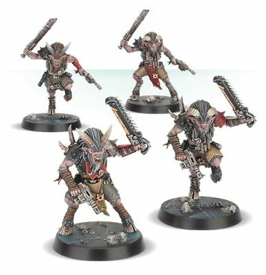 4 Beastmen Chaos BLACKSTONE FORTRESS Warhammer 40k Games Workshop *NEU* Chaos Beast Men