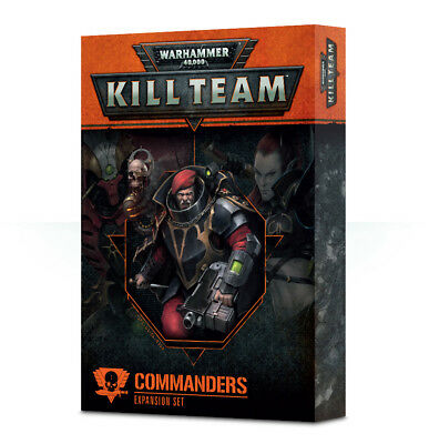 Warhammer 40k Kill Team Commanders Expansion Set *New in Box*