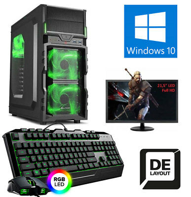 GAMER KOMPLETT PC AMD FX-8300 8x 4,2GHz, 16GB DDR3, 1TB HDD, GT730 2GB Gaming