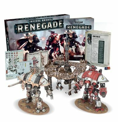 NEW! Warhammer 40k IMPERIAL KNIGHTS RENEGADE Box Set RRP £120