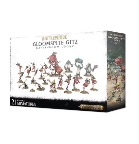 Warhammer Age of Sigmar battleforce Gloomspite Gitz Caveshroom Loonz NEW