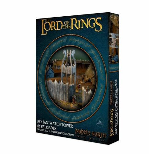 Rohan Watchtower & Palisades Middle Earth Hobbit Lord Rings Games Workshop
