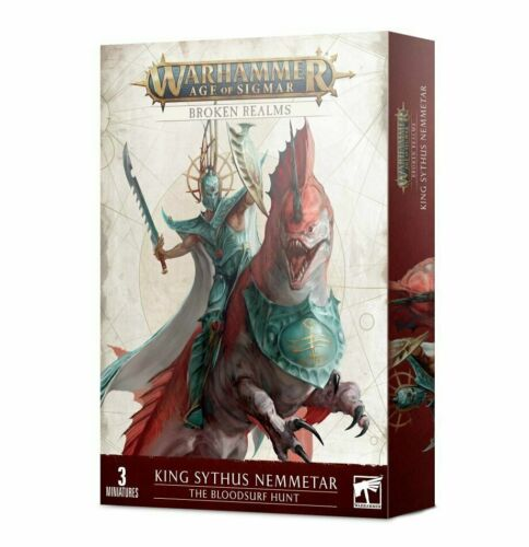 Warhammer Age of Sigmar Broken Realms- King Sythus Nemmetar- The Bloodsurf Hunt