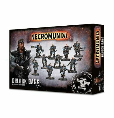 Necromunda Orlock Gang Krieger Games Workshop Ganger Gangs Underhive NEU