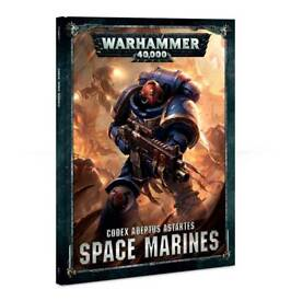 Warhammer 40k 8th edition Space marine codex