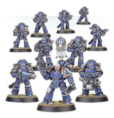 Warhammer 40,000/Horus Heresy Mark III Iron Space Marine Squad (10 Man Squad)