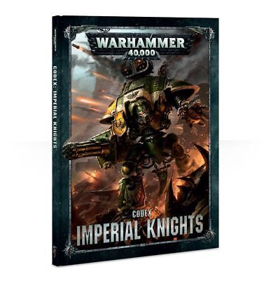 Warhammer 40K Imperial Knights Codex Hardcover 8th Edition NEW