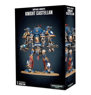 Warhammer 40K Imperial Knights Knight Castellan  New In Box