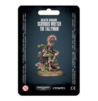 Scribbus Wretch, the Tallyman Death Guard Chaos Warhammer 40K NIB Flipside