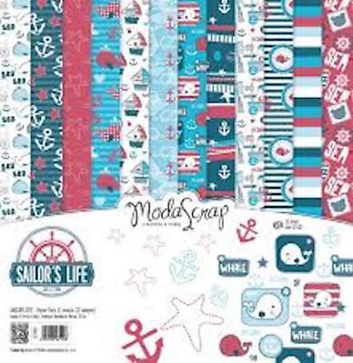 "Moda Scrap Sailor's Life  6""x6"" paper collection"
