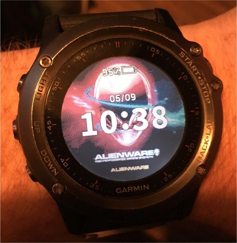 Garmin Fenix 3 Smartwatch Sync With Alienware Iphone In
