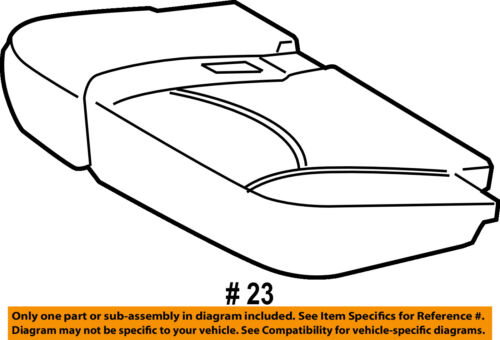 TOYOTA Genuine 71076-42452-B1 Seat Cushion Cover