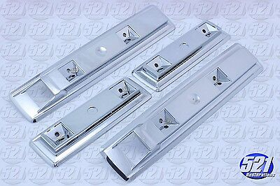 Mopar Front Rear Armrest Bases Chrome Set 66-70 Charger 67 Coronet RT Satellite  66 Armrest Base